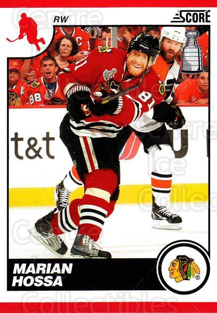 2010-11 Score #126 Marian Hossa<br/>3 In Stock - $1.00 each - <a href=https://centericecollectibles.foxycart.com/cart?name=2010-11%20Score%20%23126%20Marian%20Hossa...&quantity_max=3&price=$1.00&code=287577 class=foxycart> Buy it now! </a>