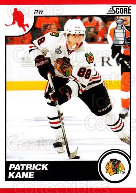 2010-11 Score #128 Patrick Kane<br/>1 In Stock - $2.00 each - <a href=https://centericecollectibles.foxycart.com/cart?name=2010-11%20Score%20%23128%20Patrick%20Kane...&quantity_max=1&price=$2.00&code=287579 class=foxycart> Buy it now! </a>