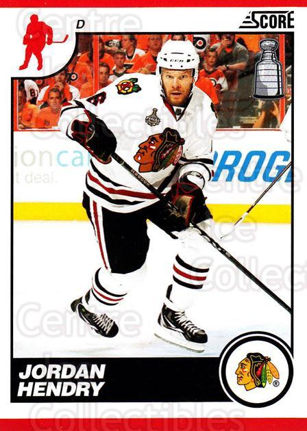 2010-11 Score #137 Jordan Hendry<br/>1 In Stock - $1.00 each - <a href=https://centericecollectibles.foxycart.com/cart?name=2010-11%20Score%20%23137%20Jordan%20Hendry...&quantity_max=1&price=$1.00&code=287588 class=foxycart> Buy it now! </a>