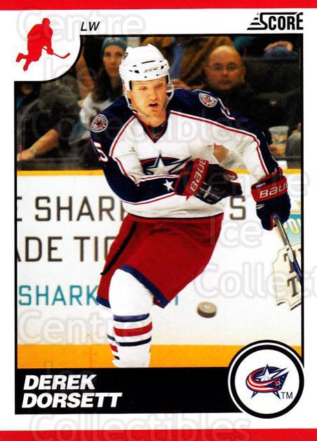 2010-11 Score #164 Derek Dorsett<br/>2 In Stock - $1.00 each - <a href=https://centericecollectibles.foxycart.com/cart?name=2010-11%20Score%20%23164%20Derek%20Dorsett...&quantity_max=2&price=$1.00&code=287615 class=foxycart> Buy it now! </a>