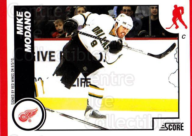 2010-11 Score #195 Mike Modano<br/>3 In Stock - $1.00 each - <a href=https://centericecollectibles.foxycart.com/cart?name=2010-11%20Score%20%23195%20Mike%20Modano...&quantity_max=3&price=$1.00&code=287646 class=foxycart> Buy it now! </a>