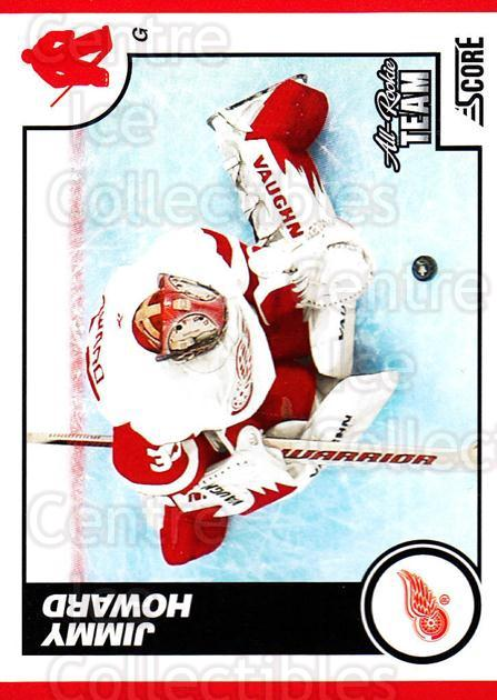 2010-11 Score #199 Jimmy Howard<br/>3 In Stock - $1.00 each - <a href=https://centericecollectibles.foxycart.com/cart?name=2010-11%20Score%20%23199%20Jimmy%20Howard...&quantity_max=3&price=$1.00&code=287650 class=foxycart> Buy it now! </a>