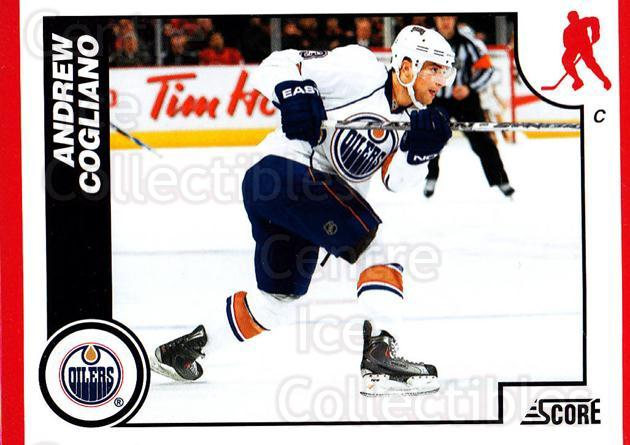 2010-11 Score #207 Andrew Cogliano<br/>2 In Stock - $1.00 each - <a href=https://centericecollectibles.foxycart.com/cart?name=2010-11%20Score%20%23207%20Andrew%20Cogliano...&quantity_max=2&price=$1.00&code=287658 class=foxycart> Buy it now! </a>