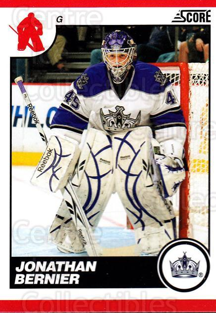 2010-11 Score #245 Jonathan Bernier<br/>3 In Stock - $1.00 each - <a href=https://centericecollectibles.foxycart.com/cart?name=2010-11%20Score%20%23245%20Jonathan%20Bernie...&quantity_max=3&price=$1.00&code=287696 class=foxycart> Buy it now! </a>