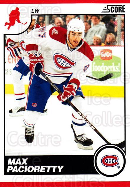 2010-11 Score #267 Max Pacioretty<br/>2 In Stock - $1.00 each - <a href=https://centericecollectibles.foxycart.com/cart?name=2010-11%20Score%20%23267%20Max%20Pacioretty...&quantity_max=2&price=$1.00&code=287718 class=foxycart> Buy it now! </a>