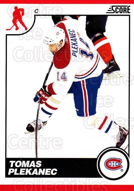 2010-11 Score #271 Tomas Plekanec<br/>3 In Stock - $1.00 each - <a href=https://centericecollectibles.foxycart.com/cart?name=2010-11%20Score%20%23271%20Tomas%20Plekanec...&quantity_max=3&price=$1.00&code=287722 class=foxycart> Buy it now! </a>