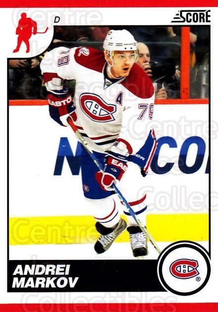 2010-11 Score #274 Andrei Markov<br/>3 In Stock - $1.00 each - <a href=https://centericecollectibles.foxycart.com/cart?name=2010-11%20Score%20%23274%20Andrei%20Markov...&quantity_max=3&price=$1.00&code=287725 class=foxycart> Buy it now! </a>
