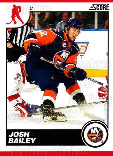 2010-11 Score #310 Josh Bailey<br/>3 In Stock - $1.00 each - <a href=https://centericecollectibles.foxycart.com/cart?name=2010-11%20Score%20%23310%20Josh%20Bailey...&quantity_max=3&price=$1.00&code=287761 class=foxycart> Buy it now! </a>