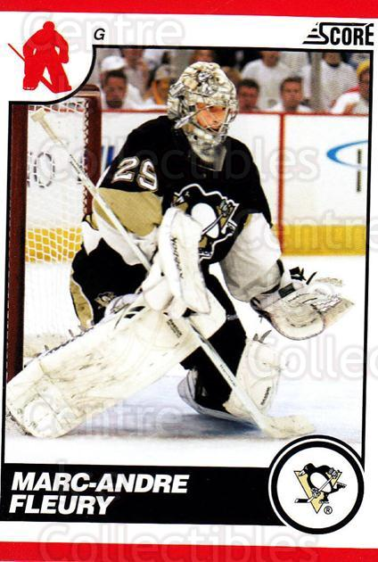 2010-11 Score #393 Marc-Andre Fleury<br/>2 In Stock - $2.00 each - <a href=https://centericecollectibles.foxycart.com/cart?name=2010-11%20Score%20%23393%20Marc-Andre%20Fleu...&quantity_max=2&price=$2.00&code=287844 class=foxycart> Buy it now! </a>