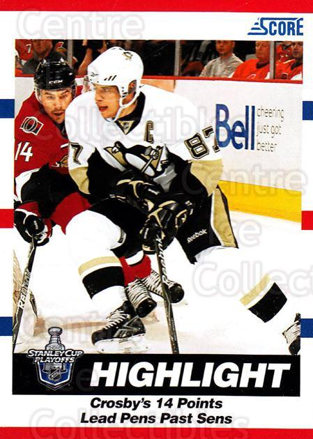 2010-11 Score #489 Sidney Crosby<br/>3 In Stock - $3.00 each - <a href=https://centericecollectibles.foxycart.com/cart?name=2010-11%20Score%20%23489%20Sidney%20Crosby...&quantity_max=3&price=$3.00&code=287940 class=foxycart> Buy it now! </a>