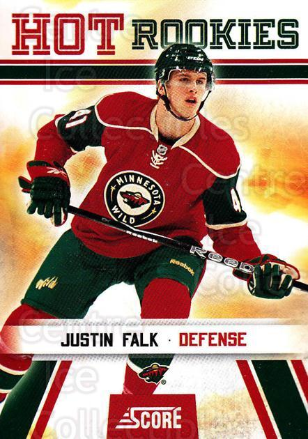 2010-11 Score #521 Justin Falk<br/>5 In Stock - $2.00 each - <a href=https://centericecollectibles.foxycart.com/cart?name=2010-11%20Score%20%23521%20Justin%20Falk...&quantity_max=5&price=$2.00&code=287972 class=foxycart> Buy it now! </a>