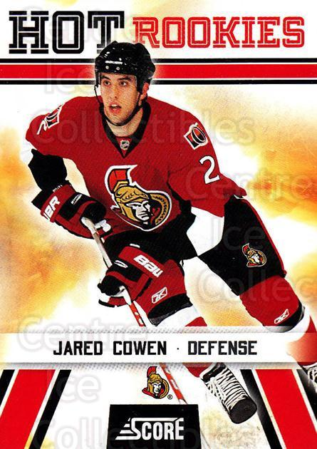 2010-11 Score #535 Jared Cowen<br/>7 In Stock - $2.00 each - <a href=https://centericecollectibles.foxycart.com/cart?name=2010-11%20Score%20%23535%20Jared%20Cowen...&quantity_max=7&price=$2.00&code=287986 class=foxycart> Buy it now! </a>
