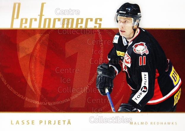 2006-07 Swedish Elitset Performers #11 Lasse Pirjeta<br/>3 In Stock - $3.00 each - <a href=https://centericecollectibles.foxycart.com/cart?name=2006-07%20Swedish%20Elitset%20Performers%20%2311%20Lasse%20Pirjeta...&price=$3.00&code=288014 class=foxycart> Buy it now! </a>