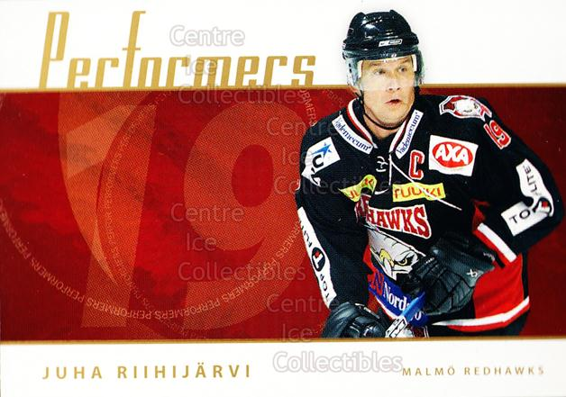 2006-07 Swedish Elitset Performers #12 Juha Riihijarvi<br/>3 In Stock - $3.00 each - <a href=https://centericecollectibles.foxycart.com/cart?name=2006-07%20Swedish%20Elitset%20Performers%20%2312%20Juha%20Riihijarvi...&price=$3.00&code=288015 class=foxycart> Buy it now! </a>