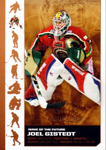 2007-08 Swedish Elitset Wave of the Future #2 Joel Gistedt<br/>3 In Stock - $3.00 each - <a href=https://centericecollectibles.foxycart.com/cart?name=2007-08%20Swedish%20Elitset%20Wave%20of%20the%20Future%20%232%20Joel%20Gistedt...&quantity_max=3&price=$3.00&code=288083 class=foxycart> Buy it now! </a>