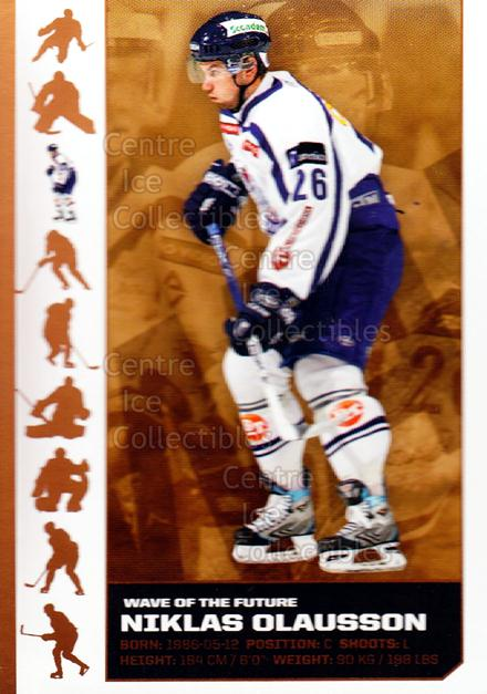 2007-08 Swedish Elitset Wave of the Future #3 Niklas Olausson<br/>2 In Stock - $3.00 each - <a href=https://centericecollectibles.foxycart.com/cart?name=2007-08%20Swedish%20Elitset%20Wave%20of%20the%20Future%20%233%20Niklas%20Olausson...&quantity_max=2&price=$3.00&code=288084 class=foxycart> Buy it now! </a>
