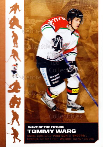 2007-08 Swedish Elitset Wave of the Future #5 Tommy Warg<br/>3 In Stock - $3.00 each - <a href=https://centericecollectibles.foxycart.com/cart?name=2007-08%20Swedish%20Elitset%20Wave%20of%20the%20Future%20%235%20Tommy%20Warg...&quantity_max=3&price=$3.00&code=288086 class=foxycart> Buy it now! </a>
