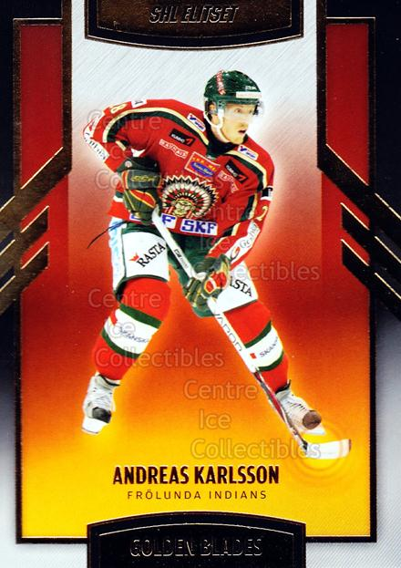 2008-09 Swedish Elitset Golden Blades #3 Andreas Karlsson<br/>2 In Stock - $3.00 each - <a href=https://centericecollectibles.foxycart.com/cart?name=2008-09%20Swedish%20Elitset%20Golden%20Blades%20%233%20Andreas%20Karlsso...&quantity_max=2&price=$3.00&code=288123 class=foxycart> Buy it now! </a>