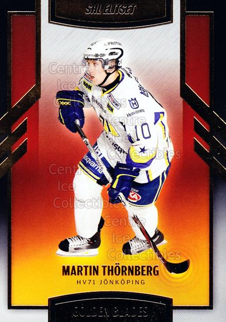 2008-09 Swedish Elitset Golden Blades #5 Martin Thornberg<br/>2 In Stock - $3.00 each - <a href=https://centericecollectibles.foxycart.com/cart?name=2008-09%20Swedish%20Elitset%20Golden%20Blades%20%235%20Martin%20Thornber...&price=$3.00&code=288125 class=foxycart> Buy it now! </a>