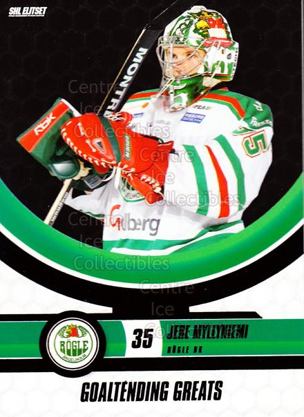 2008-09 Swedish Elitset Goaltending Greats #9 Jere Myllyniemi<br/>2 In Stock - $3.00 each - <a href=https://centericecollectibles.foxycart.com/cart?name=2008-09%20Swedish%20Elitset%20Goaltending%20Greats%20%239%20Jere%20Myllyniemi...&quantity_max=2&price=$3.00&code=288141 class=foxycart> Buy it now! </a>