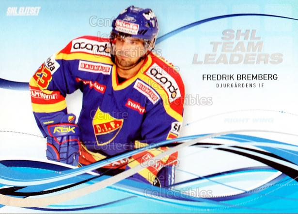 2008-09 Swedish Elitset SHL Team Leaders #2 Fredrik Bremberg<br/>2 In Stock - $3.00 each - <a href=https://centericecollectibles.foxycart.com/cart?name=2008-09%20Swedish%20Elitset%20SHL%20Team%20Leaders%20%232%20Fredrik%20Brember...&price=$3.00&code=288158 class=foxycart> Buy it now! </a>