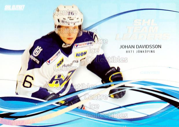2008-09 Swedish Elitset SHL Team Leaders #5 Johan Davidsson<br/>2 In Stock - $3.00 each - <a href=https://centericecollectibles.foxycart.com/cart?name=2008-09%20Swedish%20Elitset%20SHL%20Team%20Leaders%20%235%20Johan%20Davidsson...&price=$3.00&code=288161 class=foxycart> Buy it now! </a>