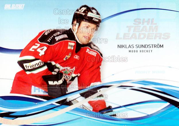 2008-09 Swedish Elitset SHL Team Leaders #8 Niklas Sundstrom<br/>3 In Stock - $3.00 each - <a href=https://centericecollectibles.foxycart.com/cart?name=2008-09%20Swedish%20Elitset%20SHL%20Team%20Leaders%20%238%20Niklas%20Sundstro...&quantity_max=3&price=$3.00&code=288164 class=foxycart> Buy it now! </a>