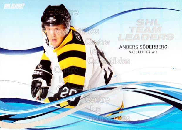 2008-09 Swedish Elitset SHL Team Leaders #10 Anders Soderberg<br/>3 In Stock - $3.00 each - <a href=https://centericecollectibles.foxycart.com/cart?name=2008-09%20Swedish%20Elitset%20SHL%20Team%20Leaders%20%2310%20Anders%20Soderber...&quantity_max=3&price=$3.00&code=288166 class=foxycart> Buy it now! </a>