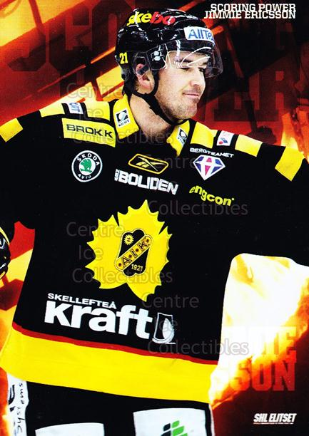 2010-11 Swedish Elitset Scoring Power #10 Jimmie Ericsson<br/>2 In Stock - $3.00 each - <a href=https://centericecollectibles.foxycart.com/cart?name=2010-11%20Swedish%20Elitset%20Scoring%20Power%20%2310%20Jimmie%20Ericsson...&quantity_max=2&price=$3.00&code=288257 class=foxycart> Buy it now! </a>