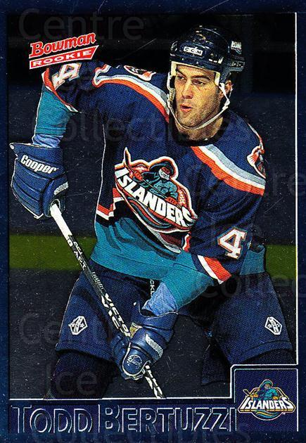 1995-96 Bowman Foil #156 Todd Bertuzzi<br/>4 In Stock - $3.00 each - <a href=https://centericecollectibles.foxycart.com/cart?name=1995-96%20Bowman%20Foil%20%23156%20Todd%20Bertuzzi...&quantity_max=4&price=$3.00&code=288344 class=foxycart> Buy it now! </a>
