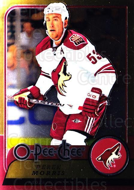 2008-09 O-pee-chee Metal #5 Derek Morris<br/>1 In Stock - $2.00 each - <a href=https://centericecollectibles.foxycart.com/cart?name=2008-09%20O-pee-chee%20Metal%20%235%20Derek%20Morris...&quantity_max=1&price=$2.00&code=288488 class=foxycart> Buy it now! </a>