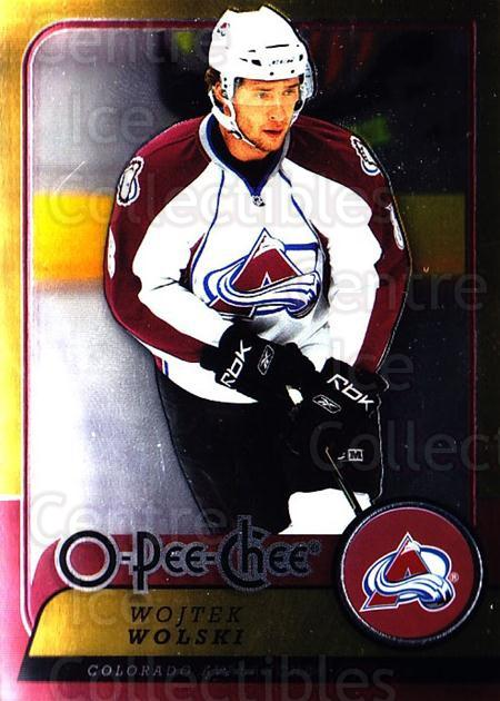 2008-09 O-pee-chee Metal #13 Wojtek Wolski<br/>2 In Stock - $2.00 each - <a href=https://centericecollectibles.foxycart.com/cart?name=2008-09%20O-pee-chee%20Metal%20%2313%20Wojtek%20Wolski...&quantity_max=2&price=$2.00&code=288496 class=foxycart> Buy it now! </a>
