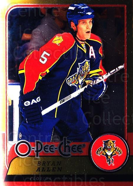 2008-09 O-pee-chee Metal #29 Bryan Allen<br/>1 In Stock - $2.00 each - <a href=https://centericecollectibles.foxycart.com/cart?name=2008-09%20O-pee-chee%20Metal%20%2329%20Bryan%20Allen...&quantity_max=1&price=$2.00&code=288512 class=foxycart> Buy it now! </a>