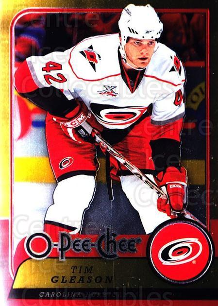 2008-09 O-pee-chee Metal #33 Tim Gleason<br/>2 In Stock - $2.00 each - <a href=https://centericecollectibles.foxycart.com/cart?name=2008-09%20O-pee-chee%20Metal%20%2333%20Tim%20Gleason...&quantity_max=2&price=$2.00&code=288516 class=foxycart> Buy it now! </a>