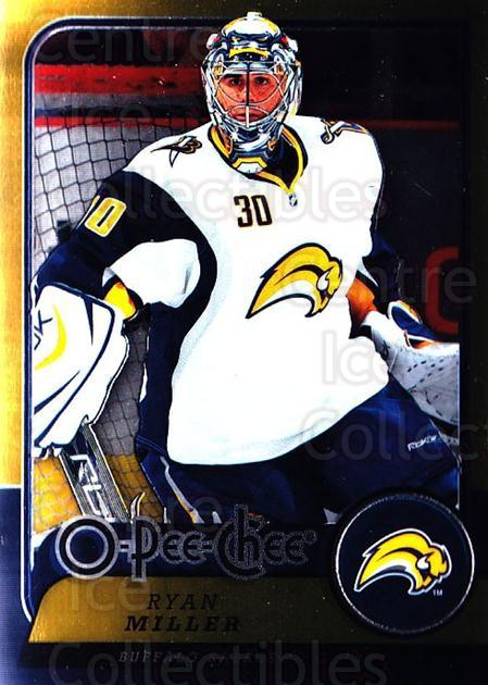 2008-09 O-pee-chee Metal #53 Ryan Miller<br/>1 In Stock - $2.00 each - <a href=https://centericecollectibles.foxycart.com/cart?name=2008-09%20O-pee-chee%20Metal%20%2353%20Ryan%20Miller...&quantity_max=1&price=$2.00&code=288536 class=foxycart> Buy it now! </a>