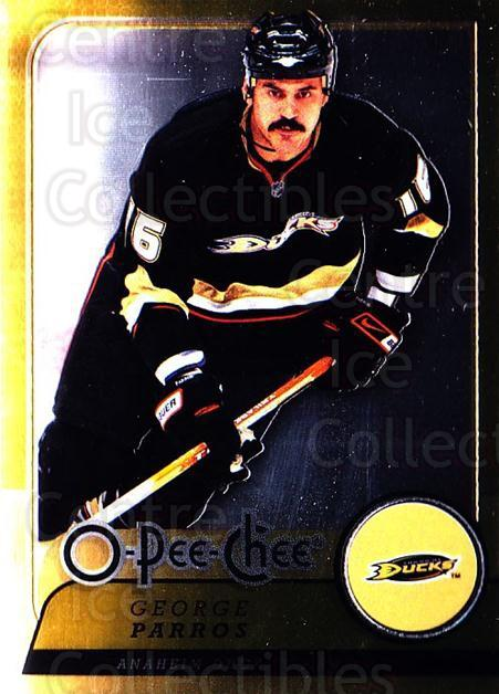 2008-09 O-pee-chee Metal #55 George Parros<br/>2 In Stock - $2.00 each - <a href=https://centericecollectibles.foxycart.com/cart?name=2008-09%20O-pee-chee%20Metal%20%2355%20George%20Parros...&quantity_max=2&price=$2.00&code=288538 class=foxycart> Buy it now! </a>
