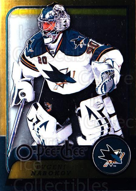 2008-09 O-pee-chee Metal #58 Evgeni Nabokov<br/>1 In Stock - $2.00 each - <a href=https://centericecollectibles.foxycart.com/cart?name=2008-09%20O-pee-chee%20Metal%20%2358%20Evgeni%20Nabokov...&quantity_max=1&price=$2.00&code=288541 class=foxycart> Buy it now! </a>