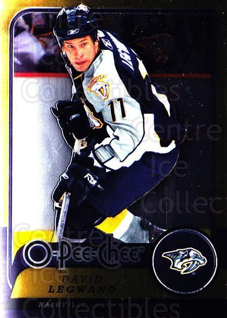 2008-09 O-pee-chee Metal #85 David Legwand<br/>2 In Stock - $2.00 each - <a href=https://centericecollectibles.foxycart.com/cart?name=2008-09%20O-pee-chee%20Metal%20%2385%20David%20Legwand...&quantity_max=2&price=$2.00&code=288568 class=foxycart> Buy it now! </a>