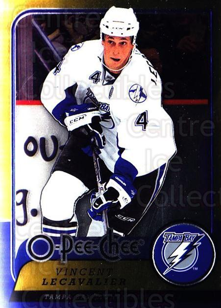 2008-09 O-pee-chee Metal #115 Vincent Lecavalier<br/>1 In Stock - $2.00 each - <a href=https://centericecollectibles.foxycart.com/cart?name=2008-09%20O-pee-chee%20Metal%20%23115%20Vincent%20Lecaval...&quantity_max=1&price=$2.00&code=288598 class=foxycart> Buy it now! </a>