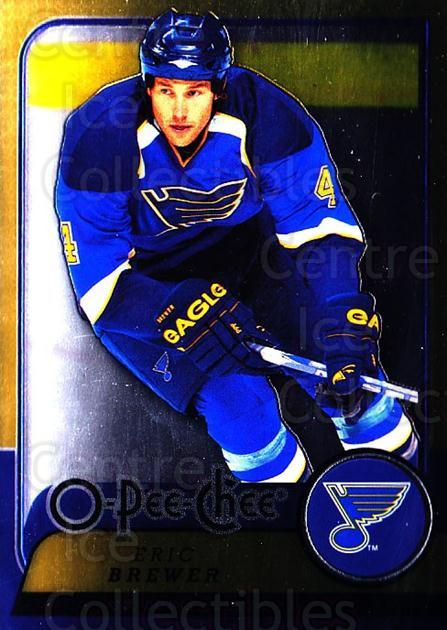 2008-09 O-pee-chee Metal #116 Eric Brewer<br/>1 In Stock - $2.00 each - <a href=https://centericecollectibles.foxycart.com/cart?name=2008-09%20O-pee-chee%20Metal%20%23116%20Eric%20Brewer...&quantity_max=1&price=$2.00&code=288599 class=foxycart> Buy it now! </a>
