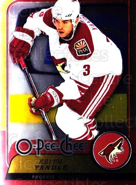 2008-09 O-pee-chee Metal #155 Keith Yandle<br/>1 In Stock - $2.00 each - <a href=https://centericecollectibles.foxycart.com/cart?name=2008-09%20O-pee-chee%20Metal%20%23155%20Keith%20Yandle...&quantity_max=1&price=$2.00&code=288638 class=foxycart> Buy it now! </a>