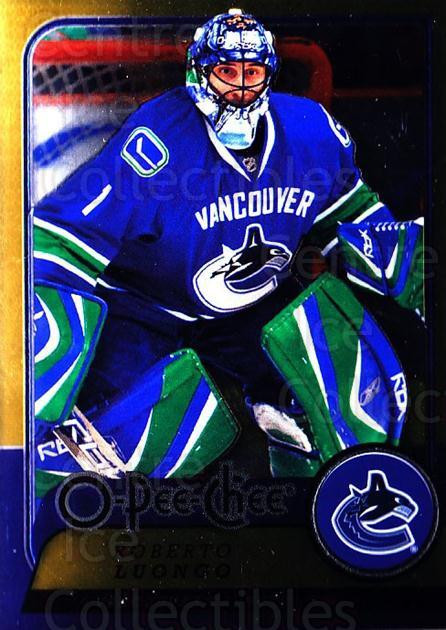 2008-09 O-pee-chee Metal #184 Roberto Luongo<br/>2 In Stock - $3.00 each - <a href=https://centericecollectibles.foxycart.com/cart?name=2008-09%20O-pee-chee%20Metal%20%23184%20Roberto%20Luongo...&quantity_max=2&price=$3.00&code=288667 class=foxycart> Buy it now! </a>