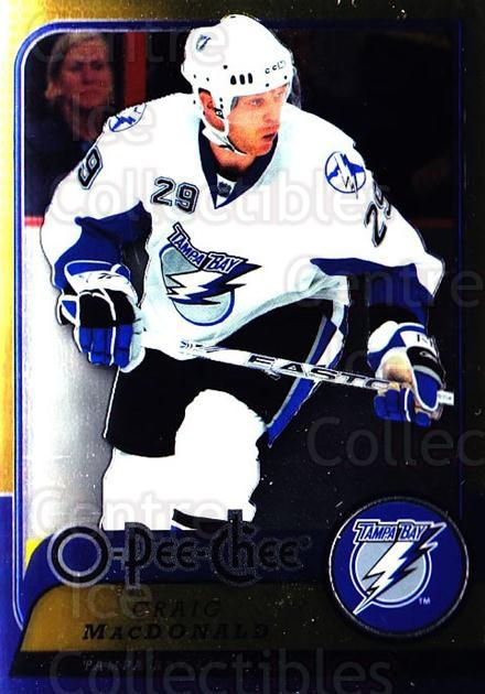 2008-09 O-pee-chee Metal #186 Craig MacDonald<br/>1 In Stock - $2.00 each - <a href=https://centericecollectibles.foxycart.com/cart?name=2008-09%20O-pee-chee%20Metal%20%23186%20Craig%20MacDonald...&quantity_max=1&price=$2.00&code=288669 class=foxycart> Buy it now! </a>