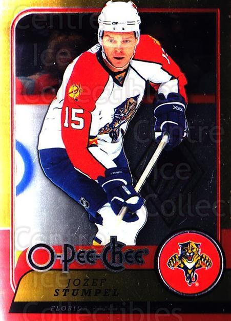 2008-09 O-pee-chee Metal #195 Jozef Stumpel<br/>1 In Stock - $2.00 each - <a href=https://centericecollectibles.foxycart.com/cart?name=2008-09%20O-pee-chee%20Metal%20%23195%20Jozef%20Stumpel...&quantity_max=1&price=$2.00&code=288678 class=foxycart> Buy it now! </a>