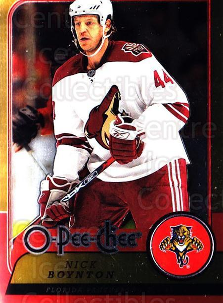 2008-09 O-pee-chee Metal #207 Nick Boynton<br/>1 In Stock - $2.00 each - <a href=https://centericecollectibles.foxycart.com/cart?name=2008-09%20O-pee-chee%20Metal%20%23207%20Nick%20Boynton...&quantity_max=1&price=$2.00&code=288690 class=foxycart> Buy it now! </a>
