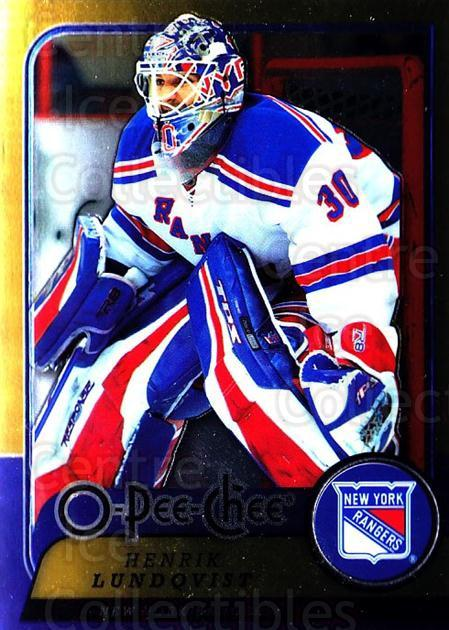 2008-09 O-pee-chee Metal #210 Henrik Lundqvist<br/>1 In Stock - $5.00 each - <a href=https://centericecollectibles.foxycart.com/cart?name=2008-09%20O-pee-chee%20Metal%20%23210%20Henrik%20Lundqvis...&quantity_max=1&price=$5.00&code=288693 class=foxycart> Buy it now! </a>