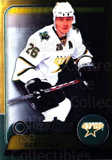 2008-09 O-pee-chee Metal #214 Jere Lehtinen<br/>1 In Stock - $2.00 each - <a href=https://centericecollectibles.foxycart.com/cart?name=2008-09%20O-pee-chee%20Metal%20%23214%20Jere%20Lehtinen...&quantity_max=1&price=$2.00&code=288697 class=foxycart> Buy it now! </a>