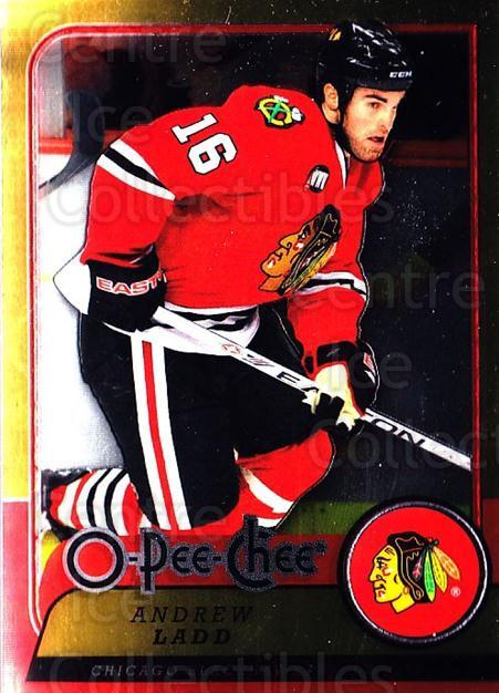 2008-09 O-pee-chee Metal #217 Andrew Ladd<br/>1 In Stock - $2.00 each - <a href=https://centericecollectibles.foxycart.com/cart?name=2008-09%20O-pee-chee%20Metal%20%23217%20Andrew%20Ladd...&quantity_max=1&price=$2.00&code=288700 class=foxycart> Buy it now! </a>