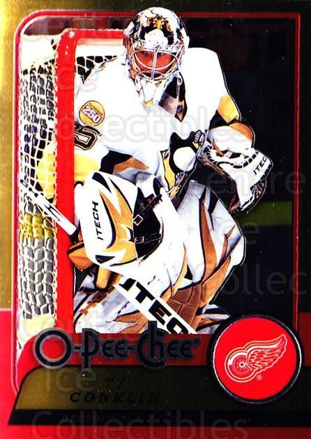 2008-09 O-pee-chee Metal #224 Ty Conklin<br/>1 In Stock - $2.00 each - <a href=https://centericecollectibles.foxycart.com/cart?name=2008-09%20O-pee-chee%20Metal%20%23224%20Ty%20Conklin...&quantity_max=1&price=$2.00&code=288707 class=foxycart> Buy it now! </a>