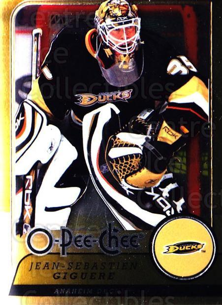 2008-09 O-pee-chee Metal #239 Jean-Sebastien Giguere<br/>2 In Stock - $2.00 each - <a href=https://centericecollectibles.foxycart.com/cart?name=2008-09%20O-pee-chee%20Metal%20%23239%20Jean-Sebastien%20...&quantity_max=2&price=$2.00&code=288722 class=foxycart> Buy it now! </a>